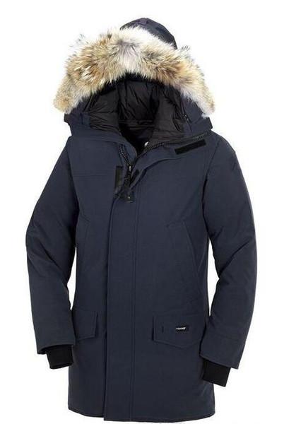 Brand Men's Langford Parka Down Jacket Parka Winter Warm Thick Down Coats Hooded Fur Collar DownJackets DHL Freeshipping
