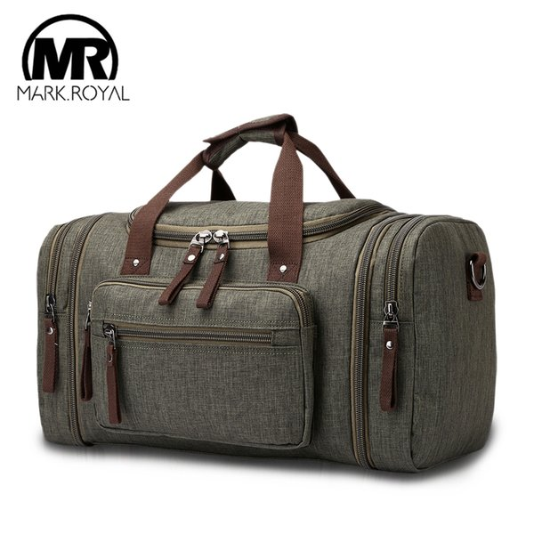 MARKROYAL Soft Waterproof Men Travel Bags Carry On Large Capacity Duffle Bags Male Hand Luggage Weekend 5 Colors For Women