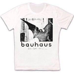 Bauhaus Bela Lugosi s Dead Rok Панк с коротким рукавом Ретро Винтаж Футболка с короткими рукавами унисекс Футболка 903