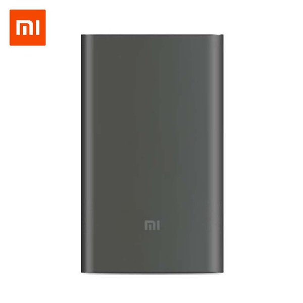 Original mi Xiaomi Power Bank 10000mAh Pro Type-C External Battery portable charging 10000 mAh Powerbank Fast Charge for phone