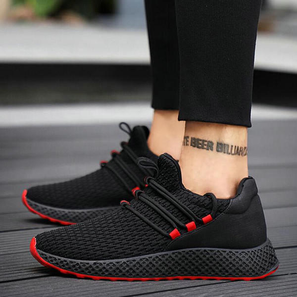 first rate 099a9 bf8e2 2019 Men Running Shoes Sneakers Outdoor Professional Training Shoes New  Brand Boys Athletic Trainer Leather Sports HD 81 From Bluelike, $31.58 | ...