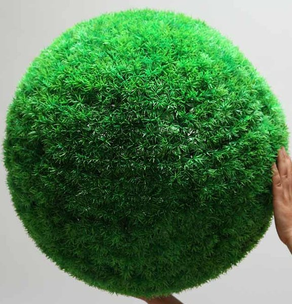 Decorations Artificial Dried Flowers Artificial plants plant big bouquet grass decoration flower home hangings green big round ball gras...