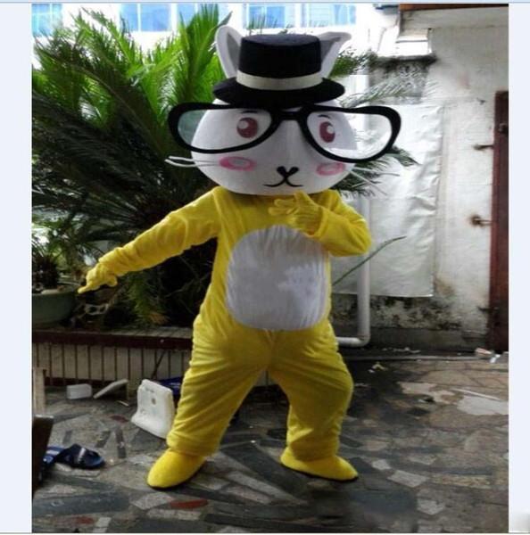 Tamanho adulto Dos Desenhos Animados Urso Mascot Costume Strip Vestido Adulto Tamanho Dos Desenhos Animados Ratos Mascote Traje Do Vestido Extravagante Halloween Chirastmas Partido Livre