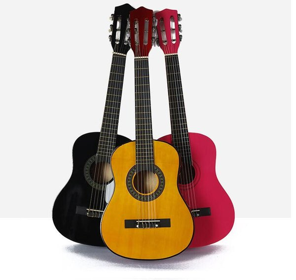 Beautiful Factory Direct 303436 Inch Acoustic Guitar Classical Guitar Children Students Beginners Getting Started Practicing Guitar Acoustic Guitar