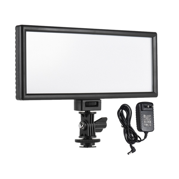 Viltrox Ultradünne Studio-Videoleuchten 5400K CRI95 + LED-Lampe Zubehör mit EU / US-Netzteil für DSLR-Kamera / Camcorder