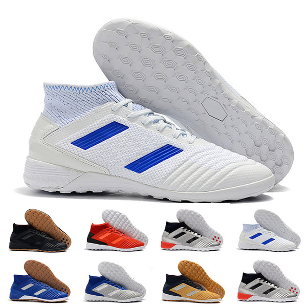 2019 Chaussures de soccer pour chaussures de football pour hommes Crampons Basara As Wid Predator Chaud Pour Femme Indoor Crampons Chaussures Eur 39-45