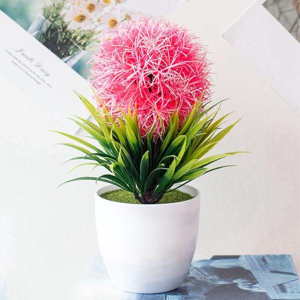 1 шт Стимуляция травы горшечных растений украшения Искусственные растения Бонсай Поддельные Цветы Декор Искусственный сухоцветов