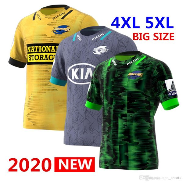 top popular Hot sales 2020 Hurricanes Primeblue Super Rugby Away Jersey 2020 New Zealand home Rugby Jerseys League shirt HOME rugby Jersey 2020