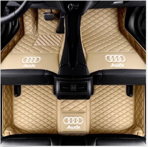 Para Audi A7 2012-2019 luxo personalizado à prova d 'água tapete do carro À Prova D' Água Tapetes Tapete antiderrapante não tóxico e inodorous