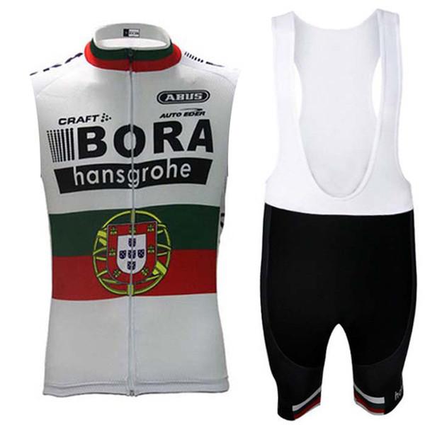 BORA team Ciclismo Maglia senza maniche Gilet con bretelle Calzoncini estivi Abbigliamento bici Abbigliamento confortevole Traspirante Asciugatura rapida Caldo Nuovo