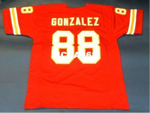 best selling Men CUSTOM #88 TONY GONZALEZ RED College Jersey size s-4XL or custom any name or number jersey