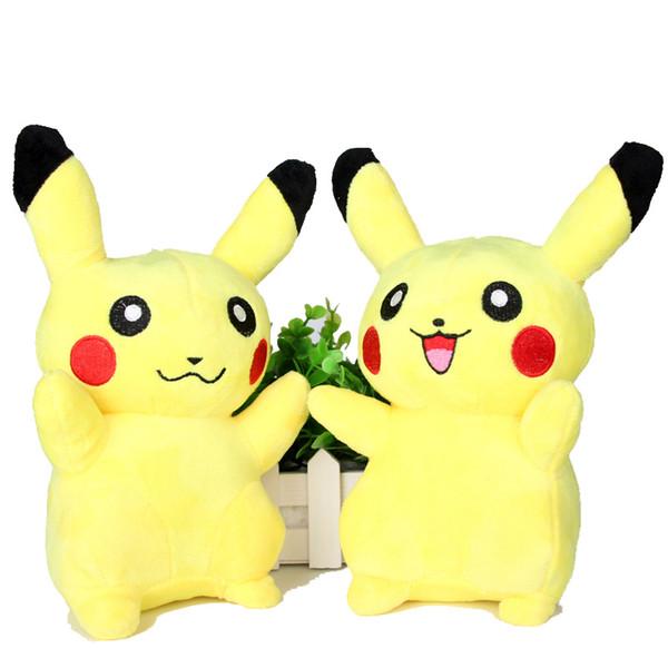 best selling Lovely Pikachu Plush dolls cartoon plush toys Stuffed animals toys soft Children Christmas gift 20CM (8inches)
