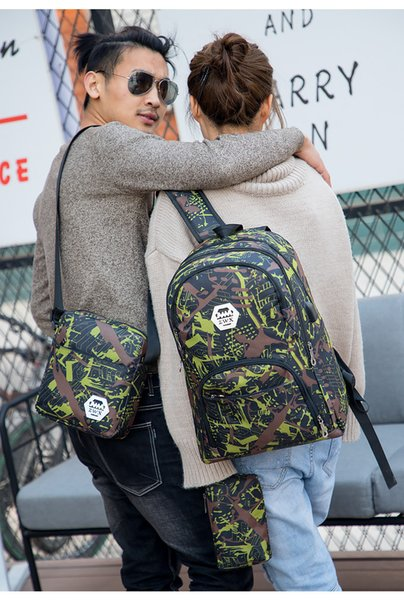 best selling 2022 HOT Hot Best outdoor bags camouflage travel backpack computer bag Oxford Brake chain middle school student bag many colors
