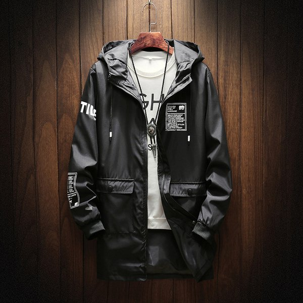 2018 Herbst Herren Casual 74 Auf Mode Jacken comDhgate Neue Von dhgate Jacke Kleidung Staubmantel De Trend Beltloop40 Großhandel yY6gmfvb7I