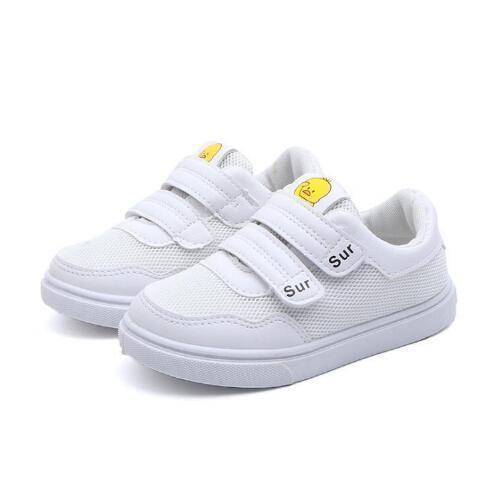 Babys Мальчик и девочка весна осень обувь новая повседневная дышащая детская обувь мужские белые туфли мальчики холст дикая доска прилив a1