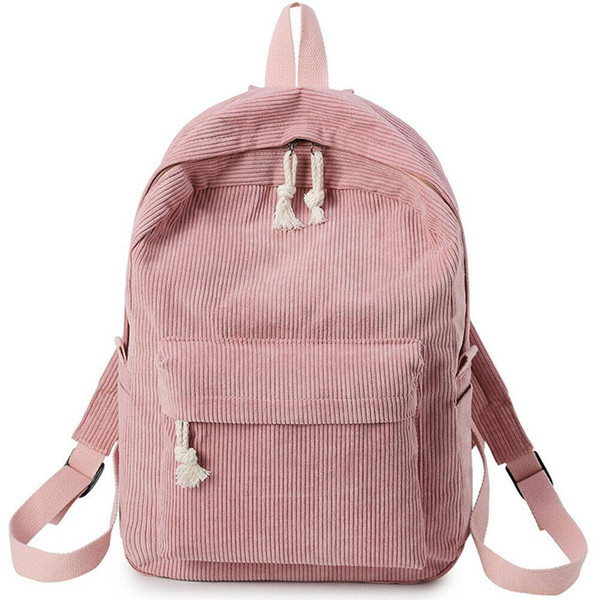 New Women Bag Lady Girls Canvas Travel School Backpack Rucksack Camping Laptop Hiking Bag High Quality Larger