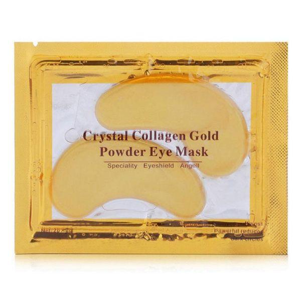 Crystal Collagen Gold Powder Eye Mask & Peels Deep moisturizing Crystal Collagen Eye Mask Free Shipping
