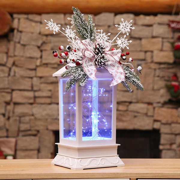 Christmas Home Decor 2019.2019 Christmas Decorations Led Candlestick Light Ornaments Craft Xmas Home Decor Christmas Tree Decorations Natal Best Christmas Decorations Online