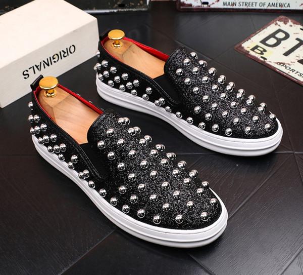 Новое высокое качество роскошь воды бурильные обувь, высокое качество тенденции мокасины, кожа горячая дрель повседневная обувь, мужская обувь бездельников 38-43 b29