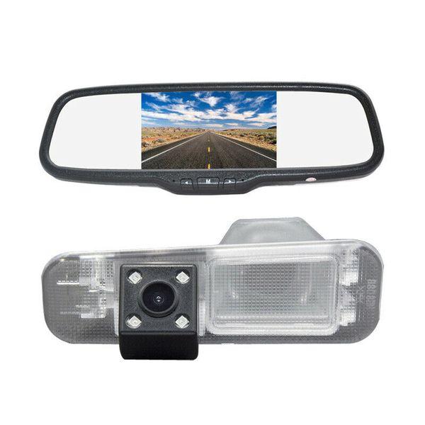Retrovisor de estacionamento invertendo Backup câmera Espelho Kit de exibição para carro Kia Rio Pride UB