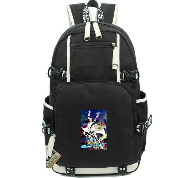 Light rucksack Doctor Kimiyo Hoshi school bag Super hero printing daypack Casual computer schoolbag Out door backpack Sport day pack