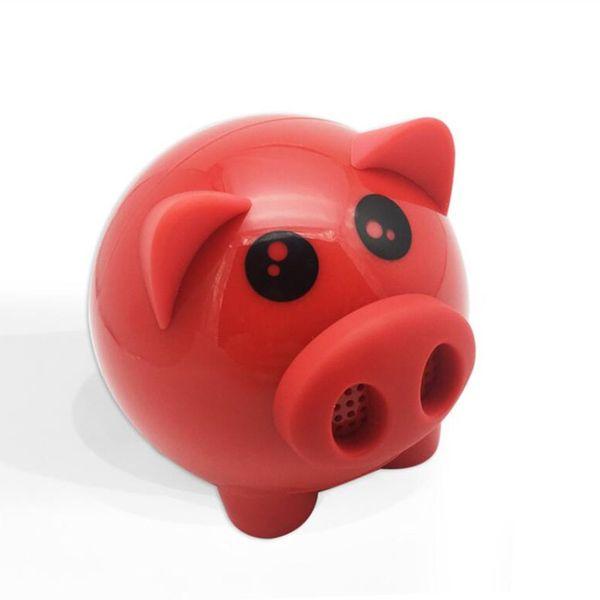 Boom pig Bluetooth speaker a01, wireless portable,mini portable subwoofer creative gift speakers, mini pig audio.