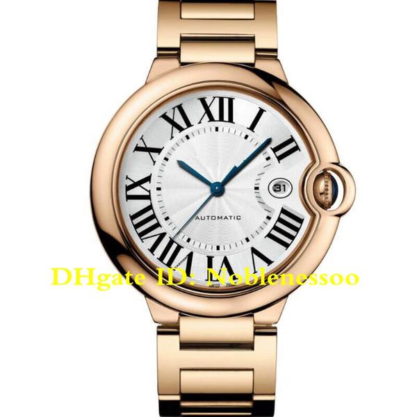 12 Color In Box Top Luxury Mens 42mm Roman Numerals W69006Z2 18K Rose Gold Date W69012Z4 W69016Z4 W69005Z2 Bracelet Automatic Watches
