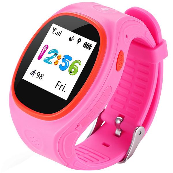 S866A Kinder GPS Tracking Smart Watch Telefon Tracking GPS WiFi Anti-Fallen Alarm GSM CPU MTK6260 für iOS Android-Handy