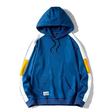 Marchio manica lunga di alta qualità 2019 nuovo designer moda uomo felpe larghe e colori naturali per cappotto sportivo con taglia M-4XL QSL198201