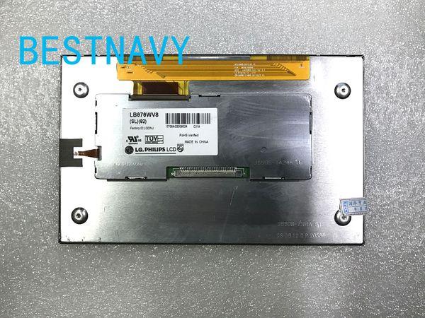 best selling Original 7inch LCD display LB070WV8(SL)(01) LB070WV8-SL01 LB070WV8-SL02 LB070WV8 SL02 screen for car DVD GPS Navigation LCD modules