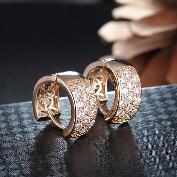 Pendientes de nudo delicado Pendientes de cristal de diseño famoso Pendientes de circonio cúbico vintage para mujer Joyas de boda