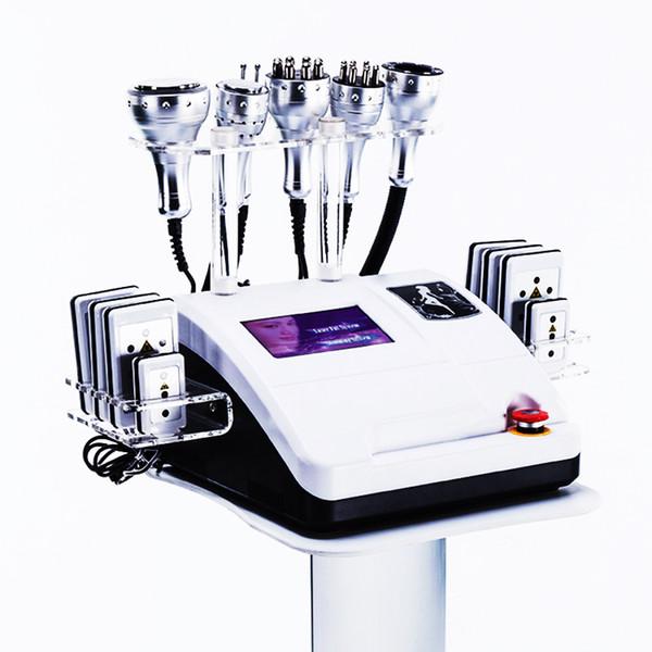 La plupart des équipements de beauté efficace 8in1 RF vide lipo Laser Cavitation Body Shaper perte de poids amincissant la machine SPA