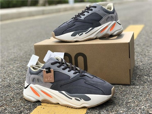 2019 Newest Originals 700 Magnet Wave Runner Running Shoes Kanye West Designer Teal Blue 3M Reflective Men Women Sneakers With Box