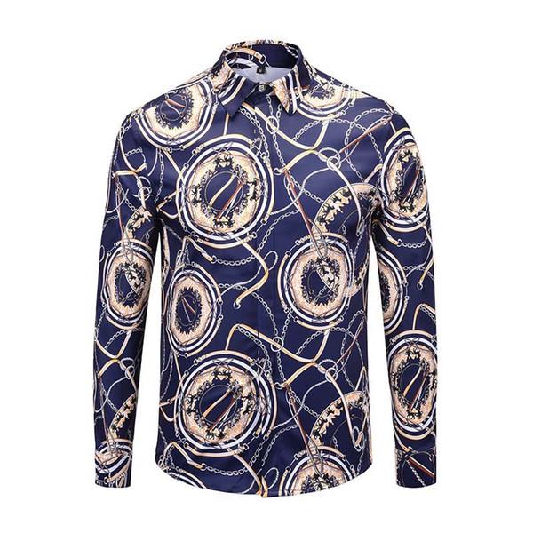 Nuevo diseñador para hombre de manga larga camisa casual sólido de los hombres \ 's camisas de marca de los EE. UU. Moda camisas sociales Oxford pequeño caballo camisas de vestir