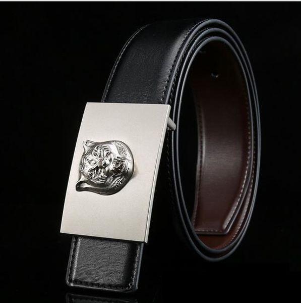 New Luxury Designer Genuine Leather Belts G Style Fashion Business Waist Belt Strap Top Quality Mens Popular Cowskin Belt Girdle Jeans Belts