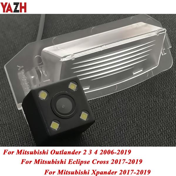 YAZH senza fili del CCD HD obiettivo grandangolare di retrovisione della macchina fotografica per Mitsubishi Lancer GTS Sportback Xpander Eclipse Croce Outlander 3 auto