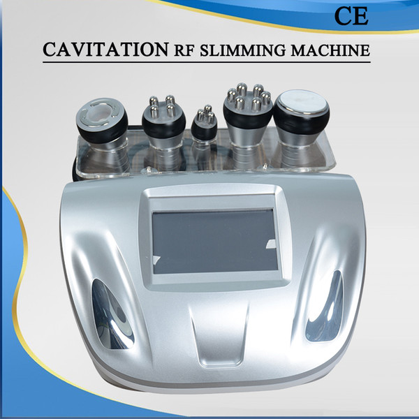 5 IN 1 Cavitation machine weight loss cavitation slimming ultrasonic cavitation machine RF face lifting clinic use