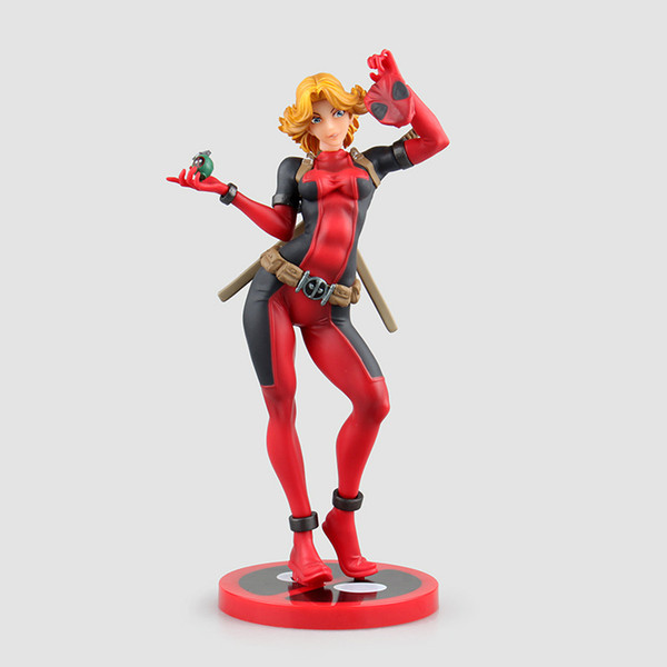 Deadpool X-men Lady Sexy Anime Action Figure Art Girl Big Boobs Tokyo Japan Anime Toys Sex Doll Adult Products