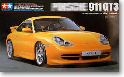 Tamiya Assembled Model 1:24 Super Sports Car 911 GT3 Plastic Kit Toy Car Model Gift Collection Free Shipping