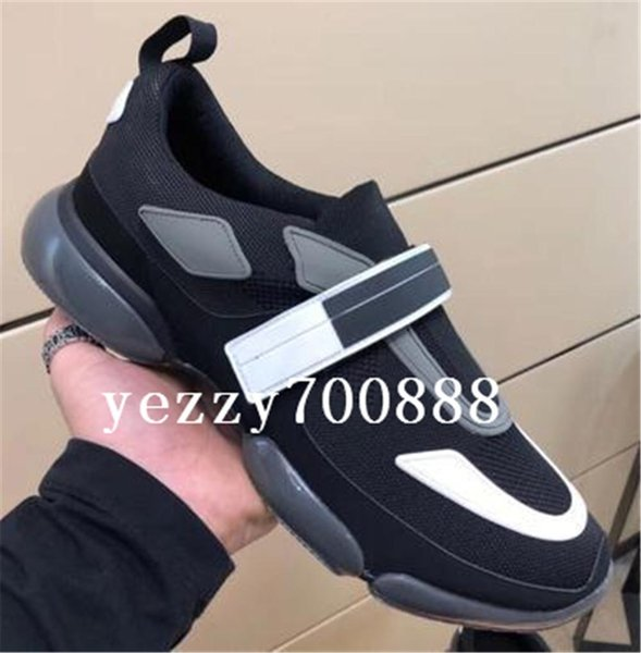 cloudbust casual shoes 18ss designer sneakers casual shoe men women genuine leather fashion paste shoes fdzhlzj, Black