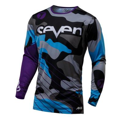 Wholesale FOR Seven Motocross Jersey Downhil Mountain Bike DH Shirt MX Motorcycle Clothing Ropa For Men Quick Dry MTB