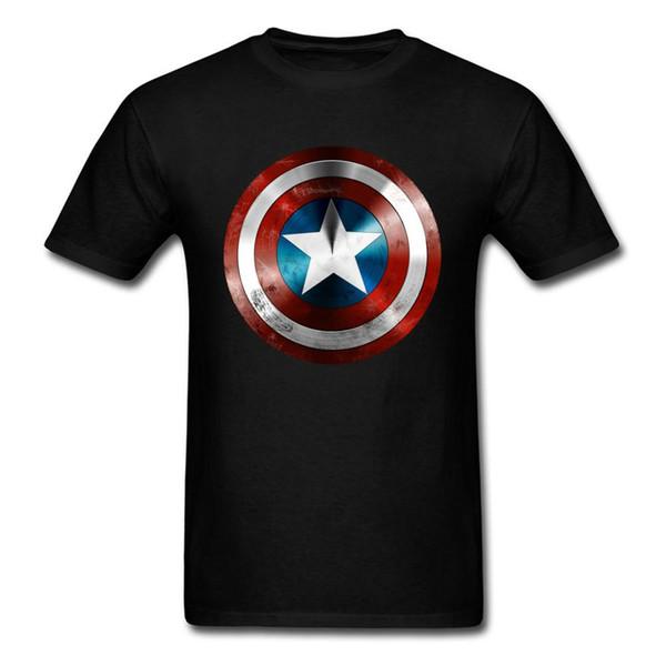 Get This Man A Shield T-shirt Captain America Tee
