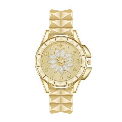 Золотые часы женские Женские часы Творческие Стальным Женские часы браслет Женский Часы Montre Femme