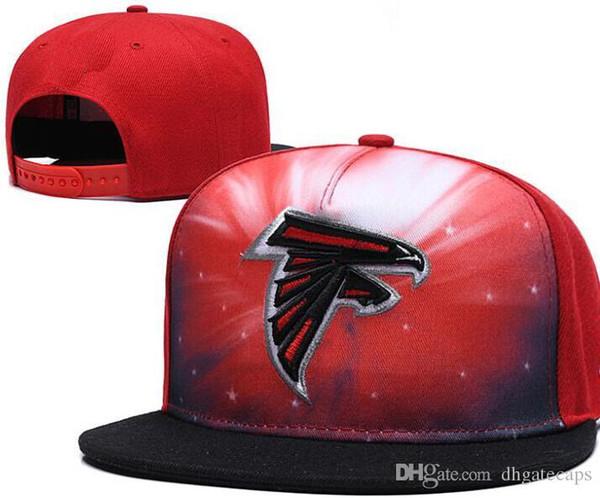 Toptan Ayarlanabilir Atlanta Snapback ATL Şapka Açık Yaz Erkekler Basketbol Cap Güneş saçakları Düz casquette Ucuz Kadınlar Futbol Cap 12