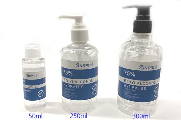 top popular SIRUINI Hand Sanitizer 30ml 60ml 250ml 300ml Disposable Gel Aurora Hand Sanitizer Travel Gel Disinfection Mini Sanitizer 2021