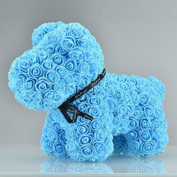 42cm mavi köpek