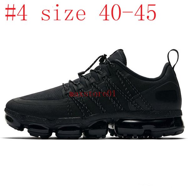 #4 Black Reflect Silver size 40-45