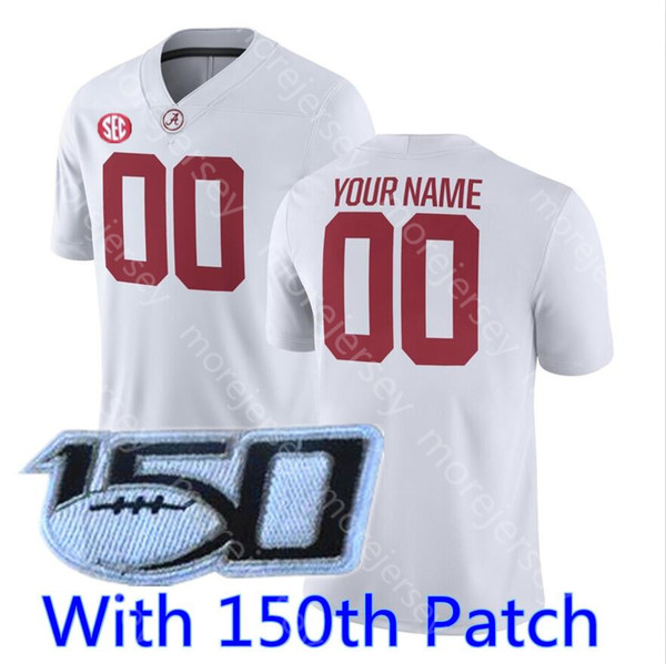 White 150th patch