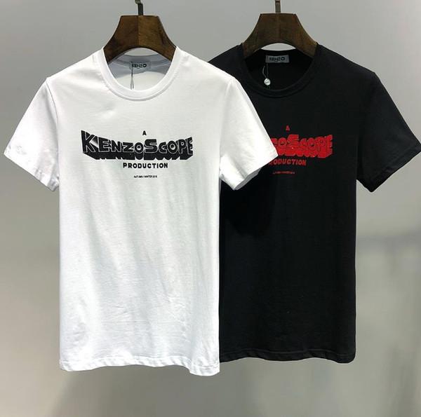 2019 son erkek tasarımcı t- shirt, rahat kıdemli baskı moda kısa kollu t- shirt boyut m-xxxl, hoş geldiniz