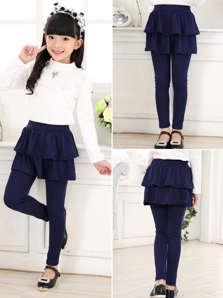 2de08585dd4 Girls Skirt Pants Autumn 2019 New Spring Girls Leggings with Skirt Girls  Clothes Children Kids Trousers Leggings Pants for Girl A1995